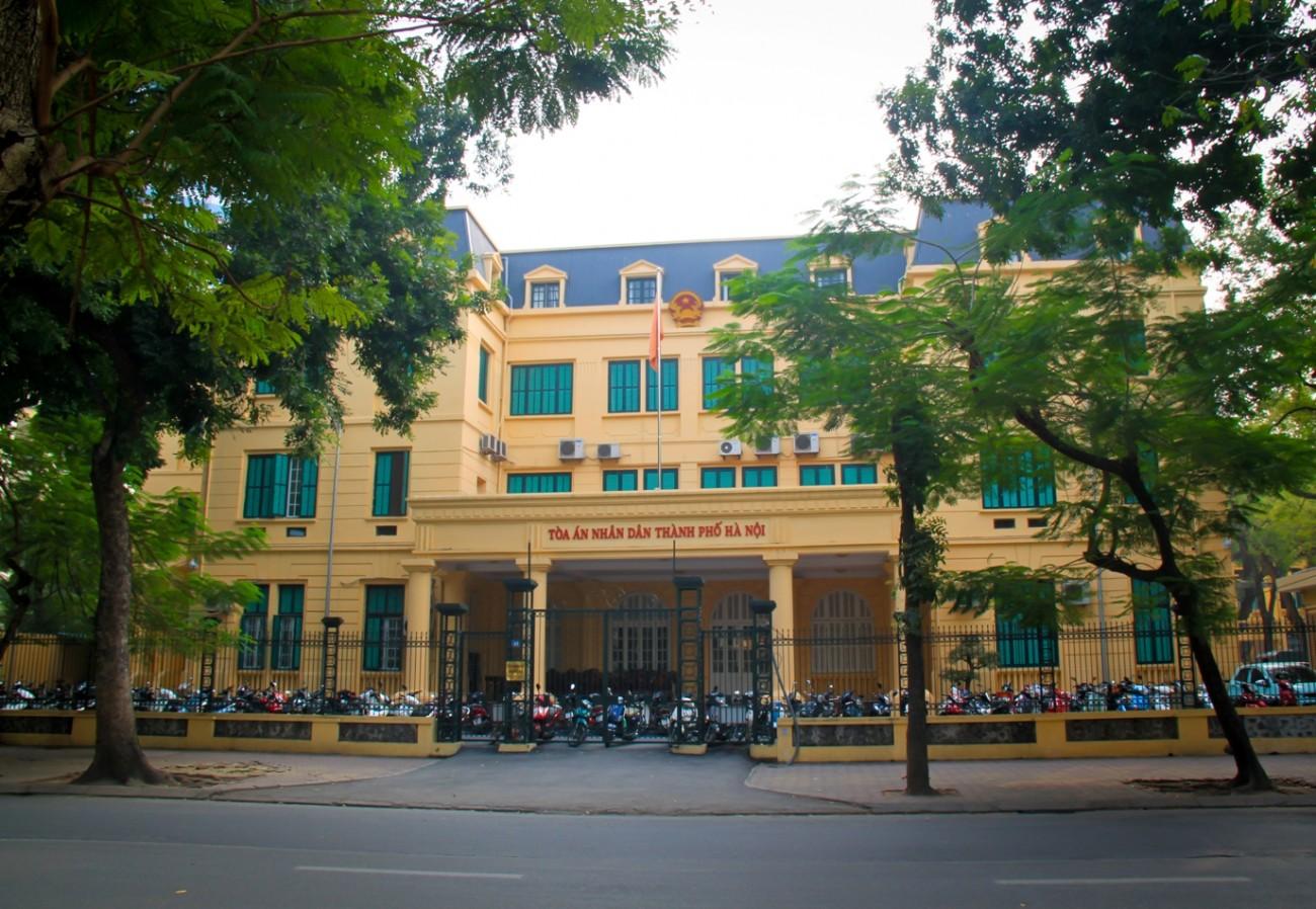Tòa án nhân dân TP Hà Nội . Hãng Luật Anh Bằng