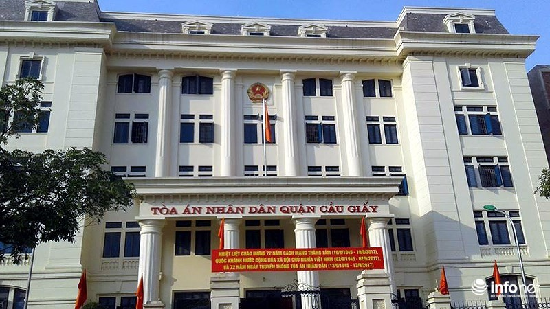Toà án nhân dân Quận Cầu Giấy Hà Nội